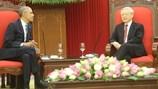 Tổng Bí thư Nguyễn Phú Trọng nhấn mạnh tầm quan trọng xây dựng lòng tin Việt - Mỹ