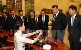 Nhà lãnh đạo hạt nhân Trung Quốc dành cử chỉ đặc biệt coi trọng với Tổng Bí thư Nguyễn Phú Trọng