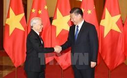 Trung Quốc tổ chức lễ đón trọng thể Tổng Bí thư Nguyễn Phú Trọng.