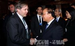 Thủ tướng dự hàng loạt cuộc gặp ở Diễn đàn Kinh tế Thế giới