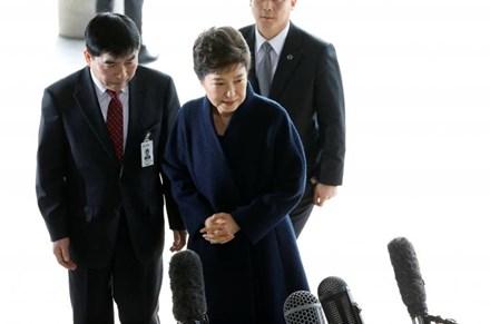 Cựu Tổng thống Park Geun-hye xin lỗi nhân dân Hàn Quốc - ảnh 1