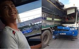 """Tình huống pháp lí: Xe tải """"dìu"""" xe khách có được bồi thường thiệt hại?"""