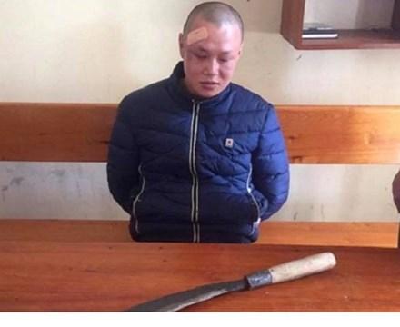 Bắt đối tượng dùng dao gây thương tích cho một chiến sĩ công an - ảnh 1