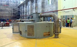 Phát điện thành công Tổ máy số 2 công trình Thủy điện Trung Sơn