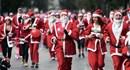 Hàng ngàn Ông già Noel nhuộm đỏ thủ đô Athens, Hy Lạp