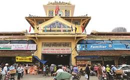 Tạm đóng cửa chợ cổ Bình Tây 90 năm tuổi để trùng tu