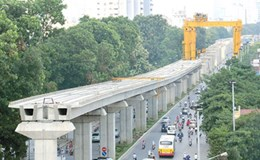 Ký gói thầu hơn 7,6 nghìn tỉ đồng cho tuyến đường sắt Nhổn - Ga Hà Nội