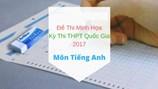 Bộ Giáo dục công bố tiếp đề thi thử nghiệm môn Tiếng Anh