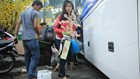 """""""Chuyến xe mùa xuân"""" đưa hàng ngàn sinh viên, người lao động TPHCM về quê đón Tết"""