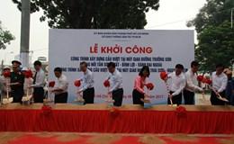Khởi công hai cầu vượt giảm kẹt xe sân bay Tân Sơn Nhất