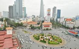 Phân luồng giao thông để xây ga ngầm metro Bến Thành