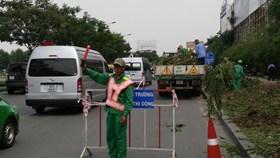 Phân luồng lại giao thông xung quanh sân bay Tân Sơn Nhất