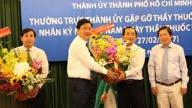 """Bí thư Đinh La Thăng: """"Phấn đấu TPHCM có giải thưởng Nobel về y học"""""""