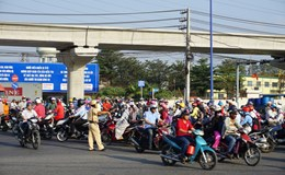 TPHCM: Đồng loạt giải tỏa ùn tắc giao thông tại 37 điểm