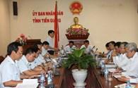 Thanh tra trách nhiệm Chủ tịch UBND tỉnh Tiền Giang