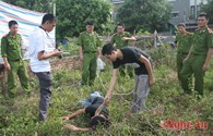 Thực nghiệm hiện trường vụ sát hại 4 người ở Nghệ An