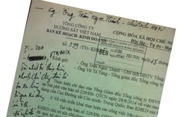 Mua toa tàu cũ của Trung Quốc: Chủ trương của Tổng Cty Đường sắt VN