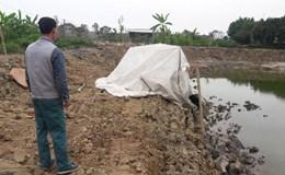 Phát hiện ngôi mộ lạ, nghi mộ cổ ở Hưng Yên