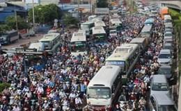 Chủ tịch TP.Hồ Chí Minh đặt bài giảm kẹt xe