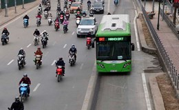 Xe buýt nhanh bắt đầu nhanh