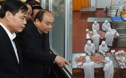 Thủ tướng Nguyễn Xuân Phúc thăm một số cơ sở sản xuất ở Bắc Ninh