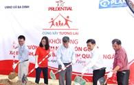 Prudential xây dựng hai phòng học cho trẻ em nghèo