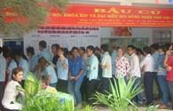 TPHCM: Hàng ngàn công nhân tham gia bầu cử Quốc hội và HĐND