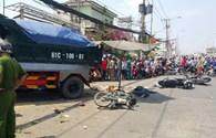 Vụ xe ben đổ dốc đâm 7 xe gắn máy, 5 người thương vong: Đã có 2 nạn nhân được xuất viện
