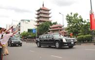 Người Sài Gòn vẫy chào tạm biệt ông Obama