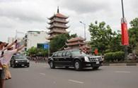 Chuyên cơ chở Tổng thống Obama rời Việt Nam sau chuyến thăm lịch sử