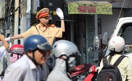 TPHCM: Cậu bé bị ung thư được làm cảnh sát giao thông