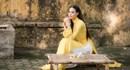 Hoa hậu Biển 2016 Thuỳ Trang tinh khôi trong trang phục áo dài