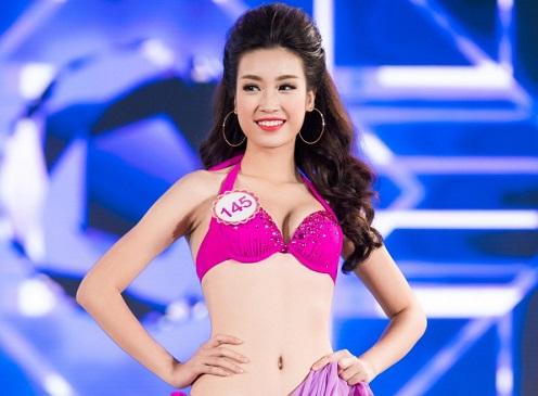 Nhan sắc và đường cong nóng bỏng của tân Hoa hậu Việt Nam 2016