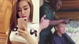 Đàn em đăng ảnh thách thức Ngọc Trinh; tiết lộ lý do MC Phan Anh cạo trọc đầu