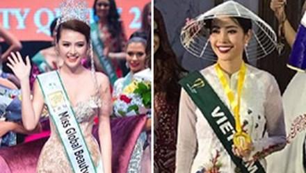 """Người đẹp Việt giành giải cao các cuộc thi nhan sắc quốc tế; Hoa hậu bị nghi vòng 1 là """"hàng giả"""""""