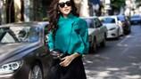 Top 10 Hoa hậu VN Sái Hương Ly chia sẻ bí quyết mặc đẹp khi gió mùa về