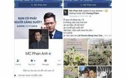 MC Phan Anh bị kẻ xấu tìm cách chiếm quyền sử dụng facebook, Thiều Bảo Trang gây nhức mắt vì váy siêu ngắn