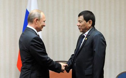 """Mối """"lương duyên"""" Nga - Philippines - ảnh 1"""