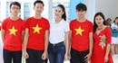 """Hoa hậu Biển Thùy Trang """"được lòng"""" học sinh ở Vĩnh Yên"""