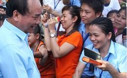 Dấu ấn Thủ tướng Nguyễn Xuân Phúc với công nhân lao động