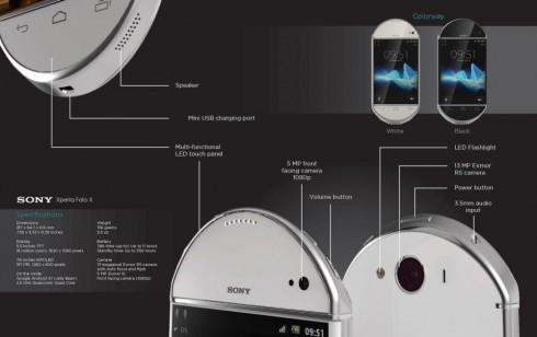 Xperia Folo X: Sự kết hợp tuyệt vời giữa smartphone và tablet 3