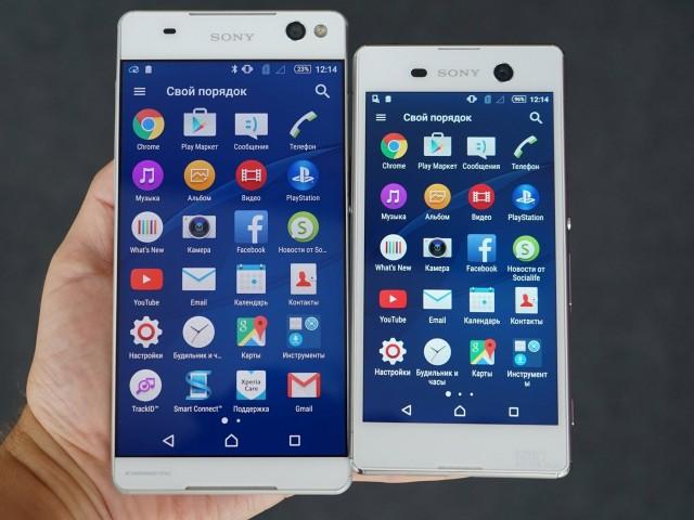 Bất ngờ lộ ảnh thực rõ nét của bộ đôi Sony Xperia M5, Xperia C5 sắp ra mắt