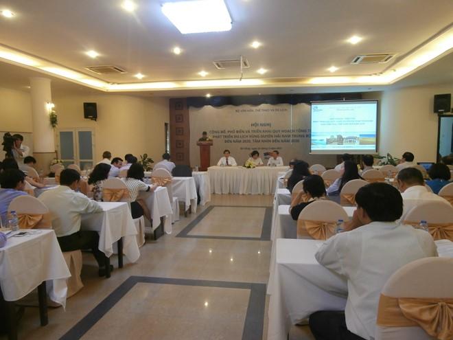 Quy hoạch tổng thể phát triển du lịch vùng Duyên hải Nam Trung Bộ