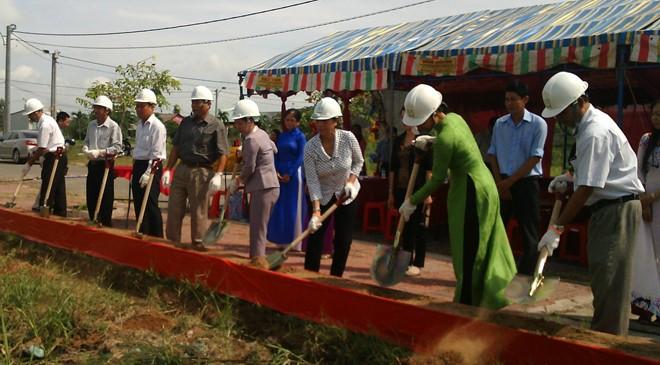 Vĩnh Long: Khởi công xây dựng Trường mầm non tại KCN Hòa Phú