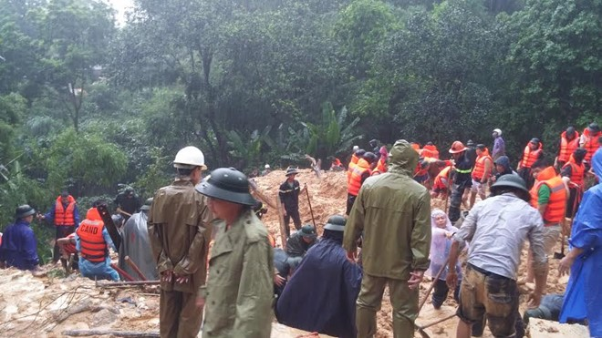 Thủ tướng chỉ đạo khắc phục hậu quả mưa lũ ở Quảng Ninh