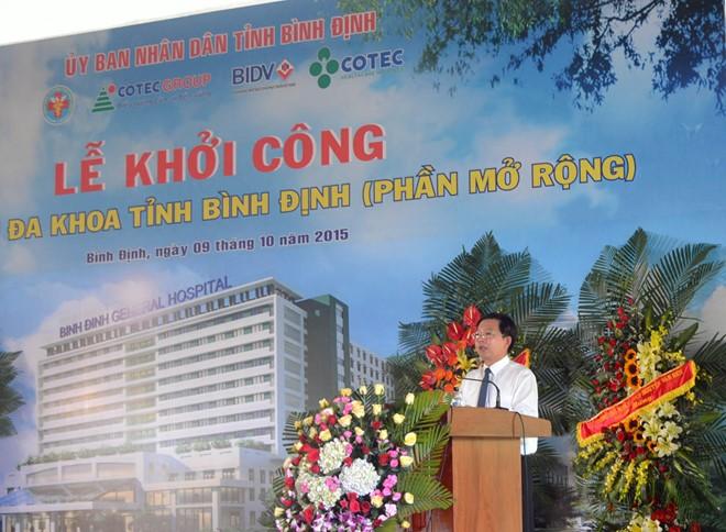1.300 tỉ đồng mở rộng Bệnh viện Đa khoa tỉnh Bình Định