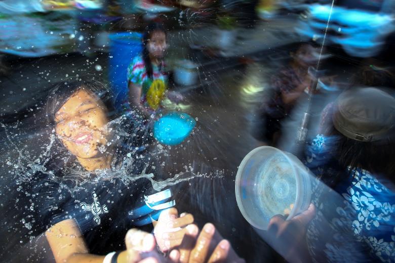 Sôi động tết té nước Songkran Thái Lan - Ảnh minh hoạ 6