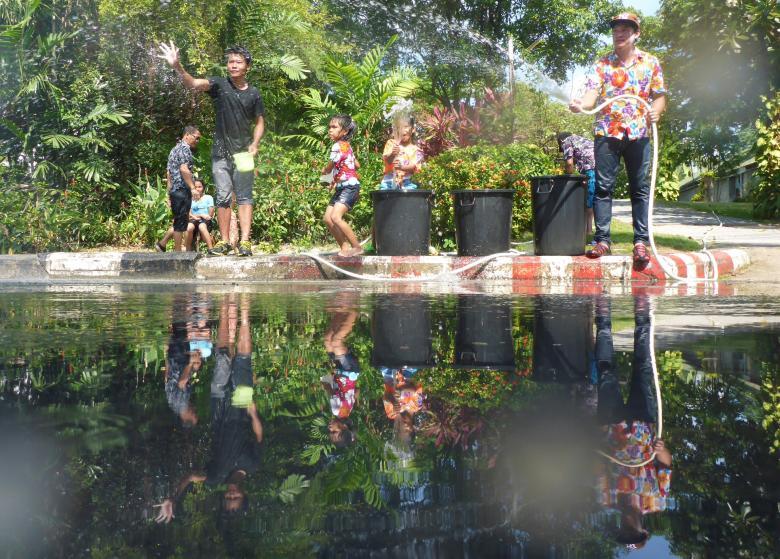 Sôi động tết té nước Songkran Thái Lan - Ảnh minh hoạ 7