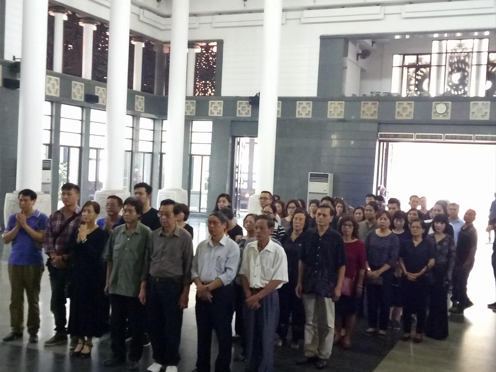 Gia đình, đồng nghiệp nghẹn ngào tiễn đưa nghệ sĩ ưu tú Duy Thanh - Ảnh minh hoạ 6