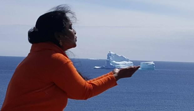 Thị trấn nhỏ hút du khách nhờ tảng băng trôi khổng lồ - Ảnh minh hoạ 2